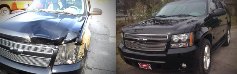SUV collision repairs
